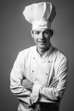 Portrait d'un chocolatier Lindt