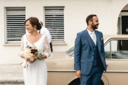 Un couple de mariées photographié par Clément Herbaux