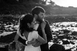 Un couple de mariés Bretons par Clément Herbaux photographe