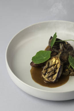 Réalisation d'un shooting culinaire pour le restaurant l'Amoulat à Gourette, par le photographe clément Herbaux